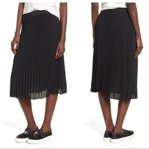 BP Pleated Midi Skirt